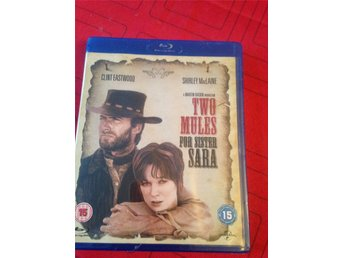 Two  mules for sister Sara,med bland annat Clint Eastwood  och Shirley Maclaine,