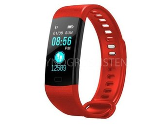 Smart Watch Sports Fitness Activity Tracker Red Fri Frakt Ny