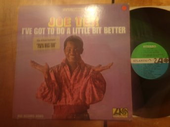 "Joe Tex ""I've Got To Do A Little Bit Better"""