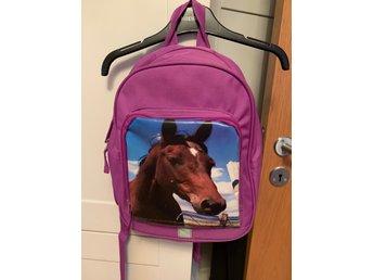 Lila ryggsäck barn (400232607) ᐈ Köp på Tradera