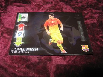 LIONEL MESSI-BARCELONA-LIMITED EDITION-UEFA CHAMPIONS LEAGUE 2012/2013