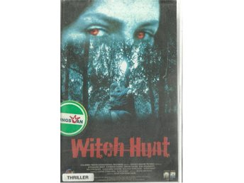 WITCH HUNT    (VHS FILM - SVENSK TEXT )