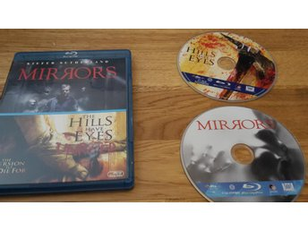 DOUBLE-PACK: MIRRORS // THE HILLS HAVE EYES // BLU-RAY //