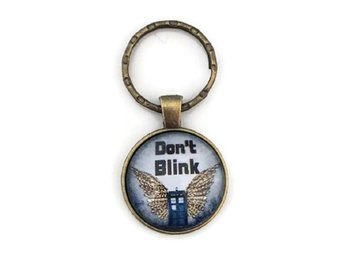 Nyckelring - Don´t Blink - Doctor Who