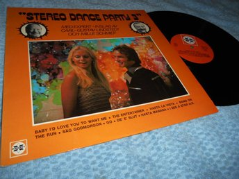 Stereo Dance Party 3 (LP) Mille o Carl-Gustaf EX/EX