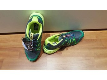 Salomon, stl 43 dark gray with green for man NYA
