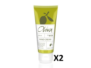 2 st Oliva Hand Cream 100 ml