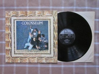 COLOSSEUM -  Those Who Are About To Die... 1969 UK, Fontana!