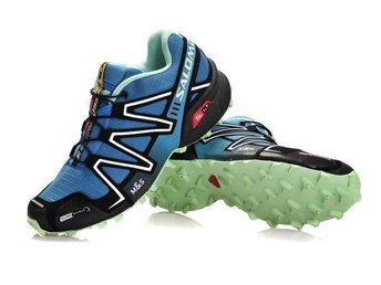 Salomon, stl 42 blue skor for man NYA