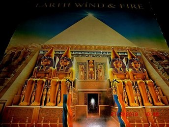 LP EARTH WIND & FIRE- ALL N ALL - TOPPSKICK