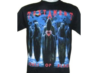 T-SHIRT: TESTAMENT  (Size M)