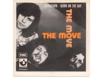 "THE MOVE - Chinatown  7"" Singel  Sverige"