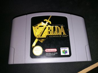 Zelda Ocarina of Time N64 (svensksålt)