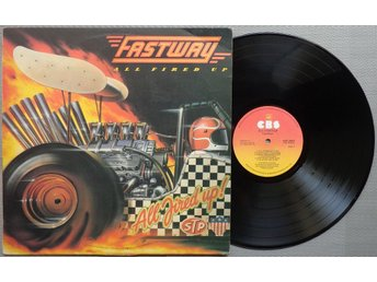 FASTWAY / MOTORHEAD 'All Fired Up!' 1984 South African LP