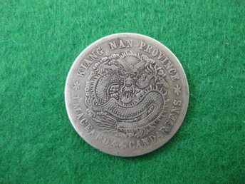China Kiang Nan 20 cents 1901-1911 silver 5,17 gram