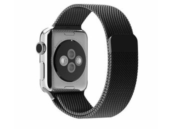 Apple Watch armband milanesisk loop 42/44 mm - Svart