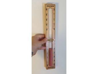 Gammalt timglas, kan hänga på vägg, 20 minuter, retro, kuriosa