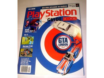 PLAYSTATION GUIDE  HELT NY  2/1999   GTA LONDON  mm.  !!!