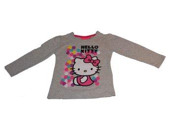 Hello Kitty Tröja grå stl 128 - Falun - Hello Kitty Tröja grå stl 128 - Falun