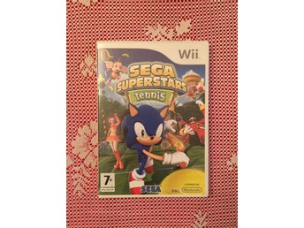 Wii Spel - Sega superstars Tennis