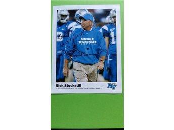 Rick Stockstill. American football head coach for the Middle Tennessee Blue Rai - Lyckeby - Rick Stockstill. American football head coach for the Middle Tennessee Blue Rai - Lyckeby