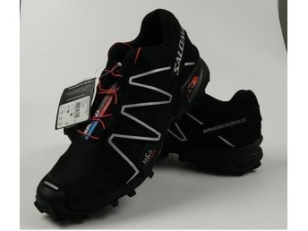 Salomon, stl 44 black with white for man NYA