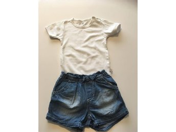 Body och shorts strl 86