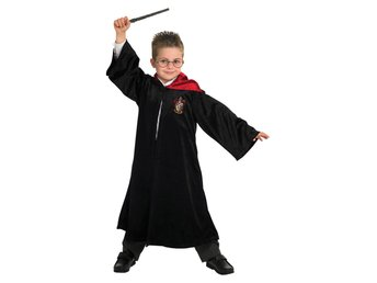 HARRY POTTER DeLuxe Kappa 110/116cl (5-6 år) Gryffindor ROBE
