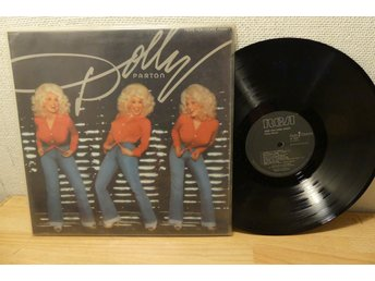 LP-SKIVA -DOLLY PARTON HERE YOU COME