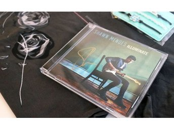 Shawn Mendes - kit med signerat album