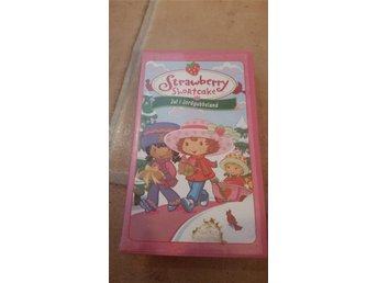 Vhs strawberry shortcake -jul i jordgubbsland