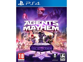 Agents of Mayhem Day One Edition + Extra Material - Helt nytt till PS4!!! REA