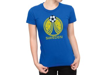 SWEDEN Sverige World Cup 2018 T-Shirt Football Choice of Mens Womens Kids Baby G