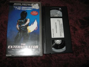 THE EXTERMINATOR - DIRECTOR'S CUT (CHRISTOPHER GEORGE,SAMANTHA EGGAR) VHS