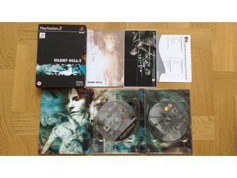 PlayStation 2/PS2: Silent Hill 2 II Special Edition (repfria skivor!)
