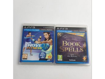 Ps3, TV-Spel, Book of spells & Move fitness