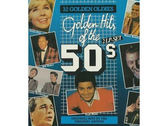 Golden Hits Of The 50s  vinyl 2 LP-skivor