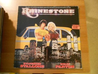 RHINESTONE: SYLVESTER STALLONE & DOLLY PARTON- SOUNDTRACK FROM THE TWENTIE..-LP.