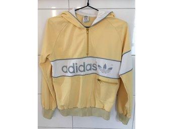 Retro Adidas huvtröja hoodie