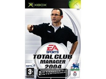 TOTAL CLUB MANAGER 2004 (Nytt) till Microsoft Xbox