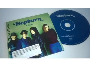 Hepburn - I quit, single CD