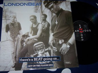 "LONDONBEAT - THERE´S A BEAT GOING ON 12"" 1988"
