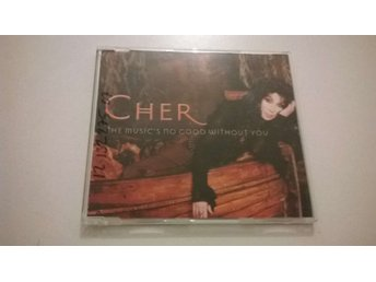 Cher - The Music's No Good Without You, CD, promo