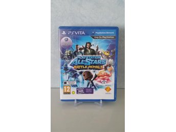 Playstation All Stars Battle Royale PS VITA Spel INPLASTAT