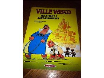 Seriealbum Ville Vasco Skattjakt i Saragassohavet - Avesta - Seriealbum Ville Vasco Skattjakt i Saragassohavet - Avesta