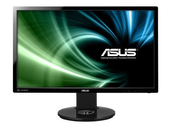 "Asus 24"" LED VG248QE 1920x1080, 144hz, 1ms, 80m:1, Speakers, DVI/HDMI/DP"