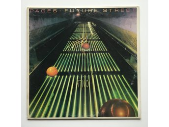 PAGES Future Street US 1980 PROMO LP