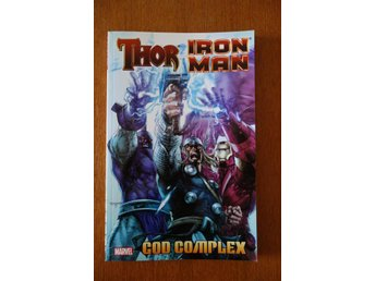 Thor/Iron man - God complex. Toppskick VF+. First printing