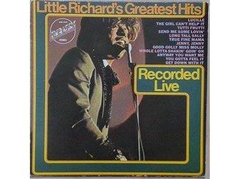 Little Richard titleÄ Little Richard's Greatest Hits - Recorded Live* Rock & Rol - Hägersten - Little Richard titleÄ Little Richard's Greatest Hits - Recorded Live* Rock & Rol - Hägersten