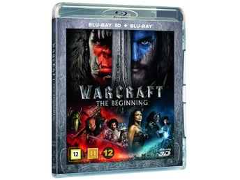 Warcraft: The Beginning 3D +Blu-ray - Ny & Inplastad!